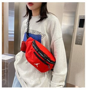 Wholesale designer hip bag resale online - 68 Off AJ Yuansu Street patting Tuku tiaodi sports style ins Guochao hip hop cross waist bag Y7
