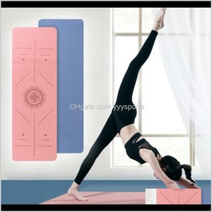 Wholesale gymnastics mats for sale - Group buy Yoga Outdoorsyoga Gymnastics Mats Anti Skid Sports Fitness Mat Thick Eva For Exercise Non Slip Universal Pilates Gym Supplies Drop Deliver