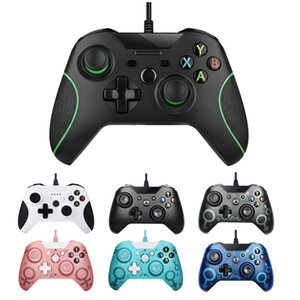 Wholesale xbox ones games resale online - USB Wired Controller for XBox One Joystick Gamepad Game Controller for Nes Xboxone PS3 PC Vibration With Retail Box DHL