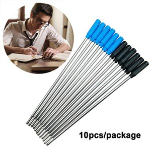 Wholesale draw rollers resale online - 10pcs Roller Ballpoint Pen Refills Replacement Accessories Durable Drawing cm Length Student Stationery Pens