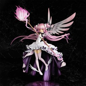 мадока оптовых-Ultimate Madoka PVC Action Figure Puella Magi Magica Anime Sexy Girl Model Toy Collection Pop