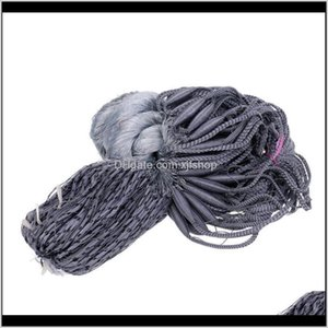 Wholesale fishing fish gill net resale online - Accessories Fisherman X4 Cm Hole Fish Gill Gillnet Fishing Net Baits Cast Mesh Trap Gray Poprc Nuegq