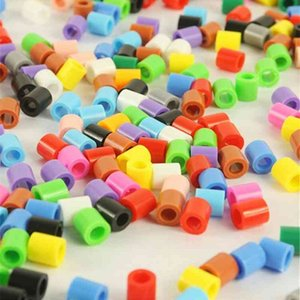Wholesale hama toys for sale - Group buy Mixed color MM HIGHGRADE hama beads diy toy foodgrade hama fuse beads Puzzles PUPUKOU
