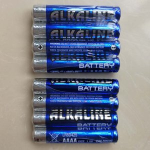 Wholesale aaaa batteries for sale - Group buy 1000pcs V MN2500 E96 LR8D425 GP25A alkaline dry battery AAAA for Bluetooth headset