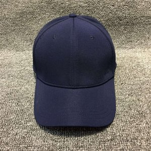 Wholesale used military resale online - cap Hat curved brim baseball elastic closed cap with solid color can be used in different sizes