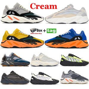 Wholesale black shoes for sale - Group buy Cream Running Shoes Bright Blue Sun Men Women Sneakers OG Solid Grey mauve Vanta Triple Black Graffiti pink yellow Trainers with box