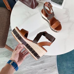 ingrosso zeppe nere-Sandali con zeppa contorno donne Accademia piatta cm Citizen Flatform Black Bianco Brown Passenger Starboard Coastline Peep Shoes Open Shoes Ankle Med Heel Slidels Slides