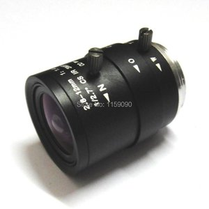 Wholesale mega pixel cameras resale online - 2 mm HD MP Manual Focal Zoom CS CCTV Lens Mega Pixel For Security Camera