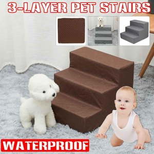 Wholesale kid beds for sale - Group buy Kennels Pens Layer Pet Stairs Detachable Bed Cat Dog Ramp Non Skid High Rebound Climbing Ladder For Indoor Kids Play