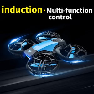 Wholesale mini dron resale online - V8 New Mini Drone K P HD Camera WiFi Fpv Air Pressure Height Maintain Foldable Quadcopter RC Dron Toy Gift
