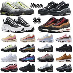 ingrosso amarena-nike air max s OG Neon Men Running shoes What The Triple Black White Laser Fuchsia Mens Women trainer sneaker da sport all aria aperta
