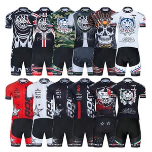 Wholesale rock cycling resale online - 2021 ROCK RACING Cycling Team Jersey D Bike Shorts Set Ropa Ciclismo MenS MTB Summer Pro Bicycling Maillot Bottom Clothing