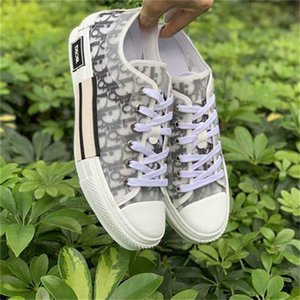 converses homens venda por atacado-19SS Air Dior Converse Oblique Paris Baskets Sneakers Kim Jones KAWS Triple S Kim Jones Kanye Hommes Femme Chaussures Women Men Casual Shoes