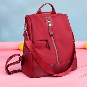 mochilas adolescentes al por mayor-Gran capacidad Oxford Mochilas para mujer Viajes Bagpack Patchwork Color School Bags Teenage Girls Fashion Big Back Pack Mochila Estilo