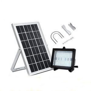 Wholesale solar system models resale online - Solar Street Lamps Outdoor Highlight Landscape Garden Light Led Floodlight System Upgrade Model Floodlights
