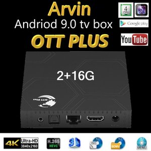 Wholesale andriod boxes resale online - Spain Stock Ott plus Andriod tv box Quad Cord G GB Smart TV Box Amlogic S905X3 G Wifi k Set Top Boxes