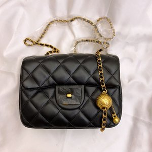 Wholesale ling bag resale online - Chang Xiang granny golden ball Pang Ling Ge lock women Xiao Fang Bao female bag