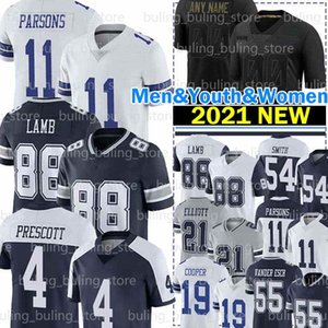 ingrosso cowboys calcio-88 Ceeee Agnello Jerseys Micah Parsons Dak Prescott Ezechiele Elliott Dalla