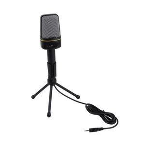 Wholesale microphone sf resale online - 3 mm Wired Studio Capacitive Plug And Play Microphone SF For Computer Wholeslae Microphones