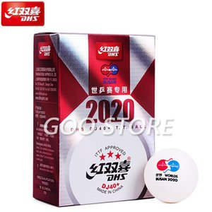 Wholesale table tennis balls dhs for sale - Group buy DJ40 Star BUSAN World TOKYO Olympic Games ITTF Star D40 Seamed ABS Plastic Table Tennis Ball DHS Pong Balls