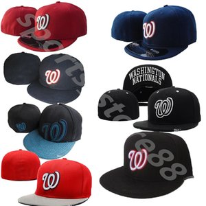 casquettes de baseball nationales achat en gros de-news_sitemap_home2021 Nationals w Casquettes de baseball Basque Bone Casquette Hop Hip Hop for Hommes Femmes Gorras Chapeug Hats ajustés