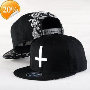 Wholesale cool snap cap resale online - 2021 New Brand Street Dance Cool Hip Hop Caps Embroidery Cross Snapback Snap Back Baseball Hats Bone Hat