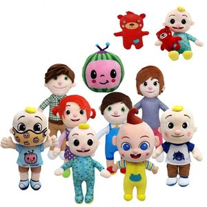 Wholesale chritmas gifts for sale - Group buy US Stock cm Cocomelon Plush Toy Soft Cartoon Family Cocomelon Jj Family Sister Brother Mom And Dad Toy Dall Kids Chritmas Gifts
