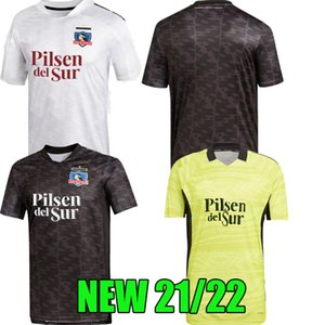 Wholesale thailand yellow shirts for sale - Group buy 2021 Colo Colo soccer Jerseys home away goalkeeper yellow FALCON BLANDI SUAZO CAMPOS OPAZO football shirt top quality S XXL set man shirts thailand