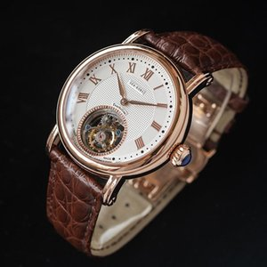 Wholesale wheel balancing weights for sale - Group buy Sugess Tourbillon Mechanical Watch Genuine Seagull ST8000 Movement Men Wristwatch Luxury Weight Precision Balance Wheel Wristwatches