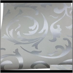 Wholesale damask home decor for sale - Group buy Wallpapers Décor Garden3D Victorian Damask Embossed Wallpaper Roll Home Decor Living Room Bedroom Erings Floral Luxury Wall Paper Drop Del