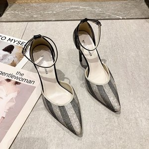 Wholesale customizing shoes resale online - 2022 Formal Crystal Dress Shoes Satin Slingbacks Elegant Cup Heel Pointed Toe Summer High Heels Customized Plus Size Wedding Women