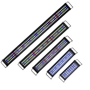 Wholesale led lights for planted aquariums for sale - Group buy 60 cm Super Slim LED Waterproof Aquarium Light Full Spectrum for Freshwater Fish Tank Plant Marine Lamp Aquatic Decor