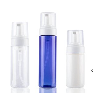 Wholesale blue shampoos for sale - Group buy 100ml Clear Blue Foaming Bottle Liquid Soap Whipped Mousse Points Bottling Shampoo Lotion Shower Gel Foam Pump DHF6266