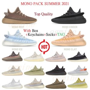 кольцо 2  оптовых-2020 Kanye West Static running Shoes Asriel Israfil Cinder Desert Sage Earth Tail Light Zebra abez zyon Bred v2 mens womens Sneakers