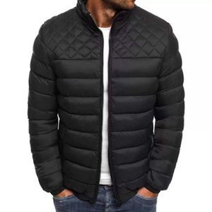 Wholesale launch pads for sale - Group buy 2020 new product launch versatile fashion down men s simple atmosphere cotton padded jacket straight