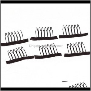 Wholesale hair combs for sale - Group buy Extension Aessories Products Drop Delivery Combs For Making Wigs Teeth Brown Black Color Wig Stainless Steel Hair Exensions Cl
