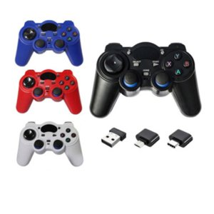 Wholesale joystick for android tablet for sale - Group buy 2 G Controller Gamepad Android Wireless Joystick Joypad with OTG Converter For PS3 Smart Phone For Tablet PC Smart TV Box