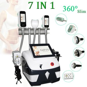 Wholesale cryolipolysis cavitation for sale - Group buy Cryolipolysis body slimming Machine ultrasonic cavitation device lipo laser fat reduction beauty equipment double chin removal