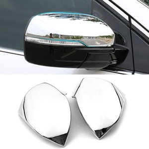 Wholesale stickers for car side mirror for sale - Group buy Car Accessories Sticker Molding Side Rearview Mirror Cover Case Chrome Trim Frame Exterior Decoration for Ford Edge