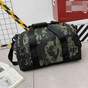 Wholesale designer brand travel bags resale online - 68 OFF camouflage travel Fashion brand letter color contrast portable independent shoes business luggage bag