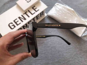 Wholesale korean large sunglasses for sale - Group buy 2020 New Korean Design Men Trendy GM Large Frame Sunglasses Women Vintage Gentle Sun glasses Original Package HER MX200527