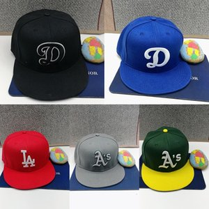 Wholesale coolest flat cap resale online - 2021 New Men s Fitted Hats Adult Flat Visor Hip Hop Toronto Fitted Cap Man Cool Blue Jay Baseball Caps Women Full Closed Gorra