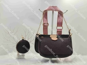 Wholesale tassel shoulder totes hand bag for sale - Group buy Women Luxurys Designers Bags Tote Hand shopping Crossbody Fashion leather pochette shoulder Metal chain old flower Tassel classic Brown