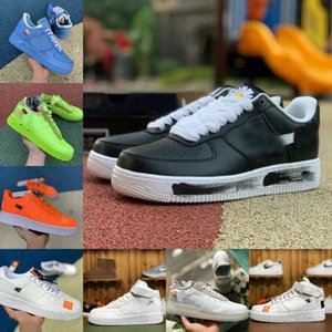 el aire de la vendimia al por mayor-Nike Air Force one airforce Shoes Vender Beat Designer Shoes Vintage New Outdoor Skate Sneakers Triple Negro Blanco Lino Naranja Hombres