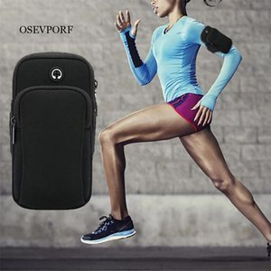 Wholesale mobile arm band cover pouch resale online - Universal Sport Armband Bag Running Jogging Gym Arm Band Mobile Phone Waterproof Cover Outdoor Sports Pouch For X Cell Cases
