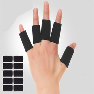 doigt de basket achat en gros de-news_sitemap_home10pcs Set Basketball Bands Stretchy Bands Protection protège mains Couvre Couverture de doigt de protection Sport Haute Qualité Z2