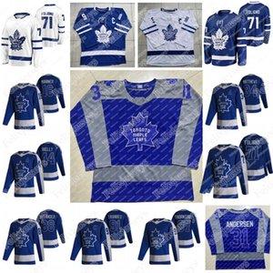 71 Nick Foligno Toronto Maple Leafs Joe Thornton John Tavares Auston Matthews Mitch Marner Ben Hutton Andersen Morgan Rielly David Rittich Nylander Jersey