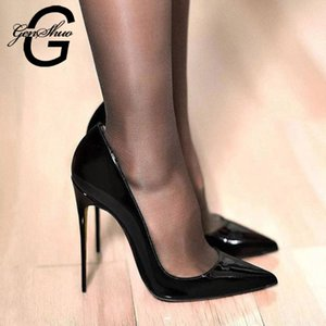 Wholesale women dress shoes size 12 for sale - Group buy Women Pumps Brand High Heels Black Patent Leather Pointed Toe Sexy Stiletto Shoes Woman Ladies Plus Big Size Dress