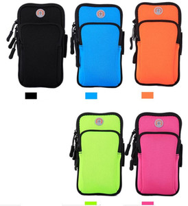 Wholesale mobile arm band cover pouch for sale - Group buy mobile phone bags universal all phones Armband Arm Band Waterproof cellPhone Cases Cover Gym Run Sports Fitness Wrist Hand Belt Pouch bag