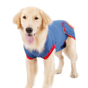 Wholesale e collar dogs resale online - dog apparel Recovery Shirt for Male Female Dogs Cats After Surgery Abdominal Wounds Bandages Cone E Collar Alternative Anti Lick
